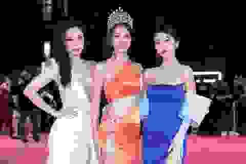 Dàn người đẹp rạng rỡ trên thảm đỏ Chung kết Hoa hậu Việt Nam 2020
