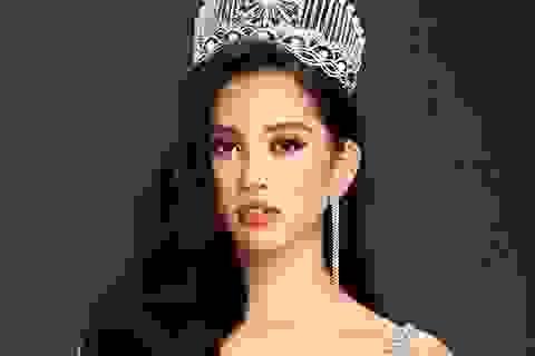 Trần Tiểu Vy nói gì trước giờ trao lại vương miện Hoa hậu Việt Nam?