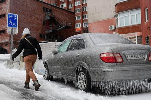 Thành phố Nga tê liệt vì mưa băng thảm họa