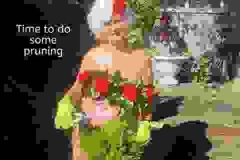 Bà cụ 80 tuổi chụp ảnh lịch khỏa thân giúp gây quỹ từ thiện