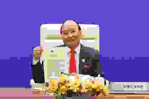 Thủ tướng Nguyễn Xuân Phúc nêu các đề xuất chiến lược thúc đẩy hợp tác APEC