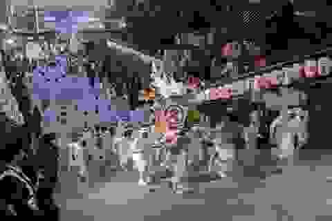 Buổi rước kiệu 5.000 người trong lễ hội lớn nhất miền Tây Nhật Bản