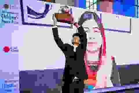 Nam sinh Bangladesh đoạt giải thưởng Hoà bình quốc tế dành cho trẻ em