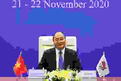 Thủ tướng đề nghị G20 xây dựng thoả thuận sản xuất vắc xin Covid-19