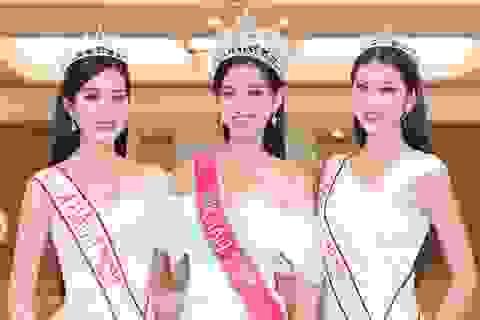 Top 3 Hoa hậu Việt Nam lần đầu lộ diện đầy cuốn hút sau đăng quang