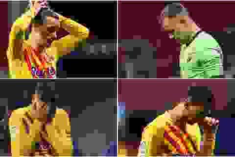 """Barcelona và Lionel Messi chỉ như """"cái xác không hồn"""""""