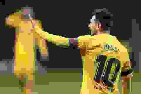 Messi bị gạch tên khỏi trận gặp Dynamo Kiev ở Champions League