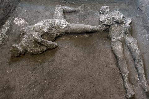 Phát hiện thêm cái chết khủng khiếp của nạn nhân thảm họa Pompeii