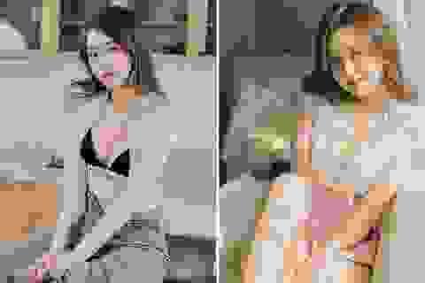 """9X Hà thành xinh đẹp, sở hữu vóc dáng """"đốt mắt"""" người nhìn"""