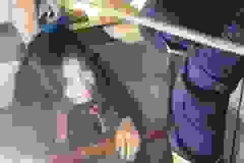 Cảnh sát giải cứu người phụ nữ hoảng loạn kẹt trong thang máy ở Sài Gòn