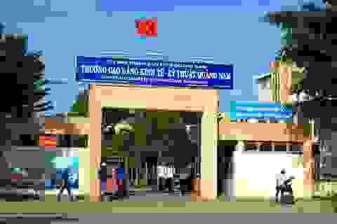 Quảng Nam triển khai sáp nhập các trường dạy nghề