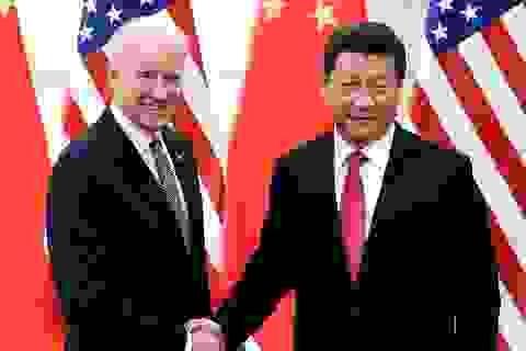 Ông Tập Cận Bình chúc mừng ông Biden đắc cử