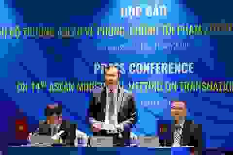 Tội phạm khu vực ASEAN và Tiểu vùng sông Mekong có xu hướng gia tăng