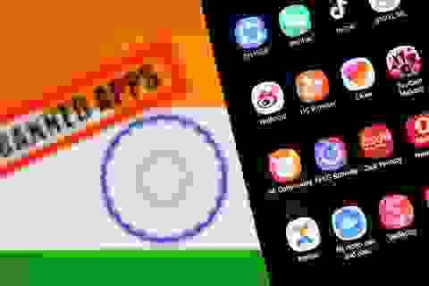 """Ấn Độ """"cấm cửa"""" 43 ứng dụng Trung Quốc"""