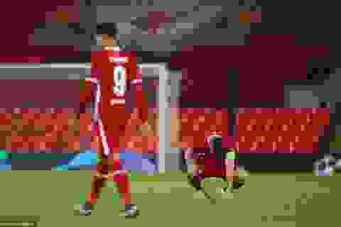Liverpool bất ngờ thua sốc trên sân nhà ở Champions League