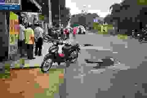 2 nữ sinh bị xe tải cán chết trên đường đến trường