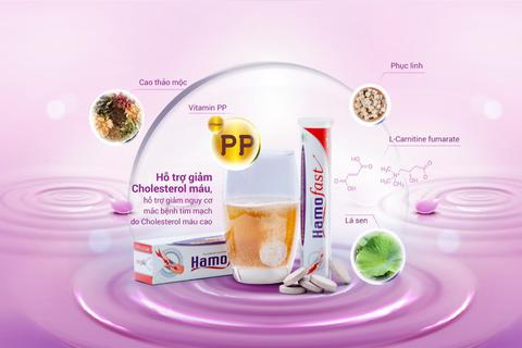 Giải pháp mới hỗ trợ giảm cholesterol máu cao hiệu quả