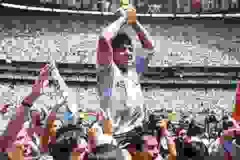 Dân mạng treo hashtag Maradona tưởng nhớ huyền thoại bóng đá Argentina
