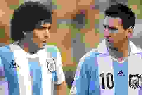 "Lionel Messi có phải là ""bản sao"" của Diego Maradona?"