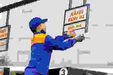 Giá xăng dầu tăng mạnh từ chiều nay