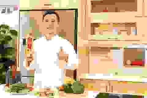 Đầu bếp Cẩm Thiên Long bật mí bí quyết chiên rán ở nhiệt cao qua bài trắc nghiệm 5 ngón tay