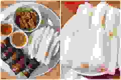 """Độc lạ đặc sản bánh """"gật gù"""", thực khách ăn theo cân ở Quảng Ninh"""