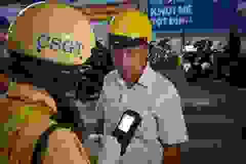 """TPHCM: Có tháng xử lý tới 14.000 tài xế """"ma men"""""""