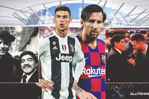 """""""Messi và C.Ronaldo đừng mơ được ngưỡng mộ như Maradona"""""""