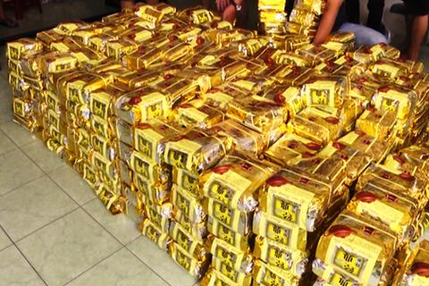 Hàng chục tấn ma túy đã tuồn vào Việt Nam