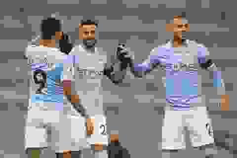 """Man City 5-0 Burnley: Chủ nhà """"mở tiệc"""" bàn thắng"""
