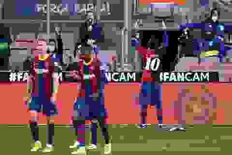 Barcelona thắng đậm Osasuna trong ngày Messi tri ân Maradona