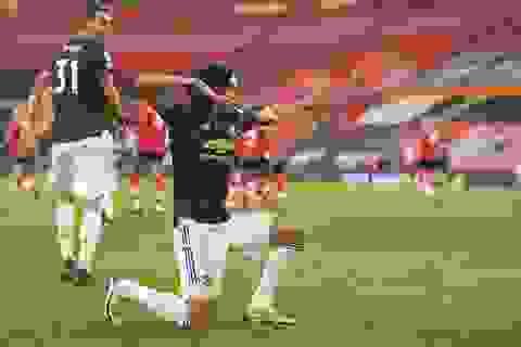 Cavani đạt điểm tuyệt đối trong màn ngược dòng của Man Utd