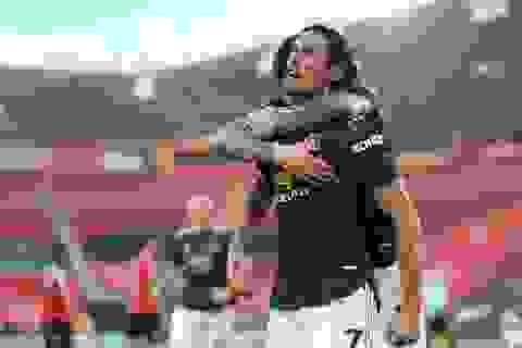 """Man Utd ngược dòng ấn tượng: Cavani có phải """"đấng cứu thế""""?"""