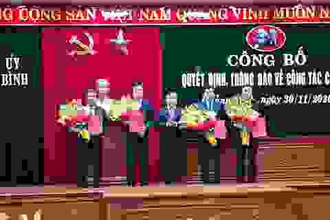Quảng Bình phân công, điều động nhiều chức danh chủ chốt