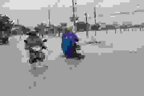 Ninh Thuận cho học sinh tiếp tục nghỉ học ngày 1/12 do mưa lũ