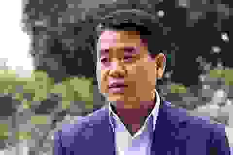Xử kín vụ cựu Chủ tịch Hà Nội Nguyễn Đức Chung chiếm đoạt tài liệu mật