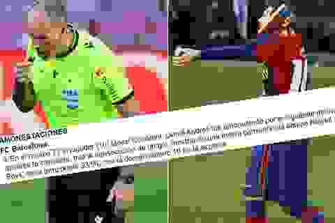 Báo cáo đặc biệt về vụ Messi cởi áo tri ân Maradona