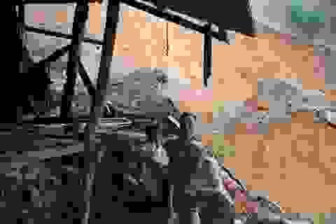 Quảng Trị: Người dân vùng sạt lở đất sống trong thấp thỏm