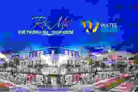 Khu Tây tiếp tục dậy sóng với siêu phẩm Phố Thương gia Water Square