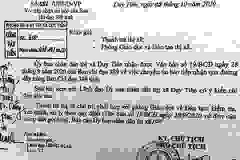 Hà Nam: Thu hồi, dừng sử dụng 3 đầu sách giả trong trường học