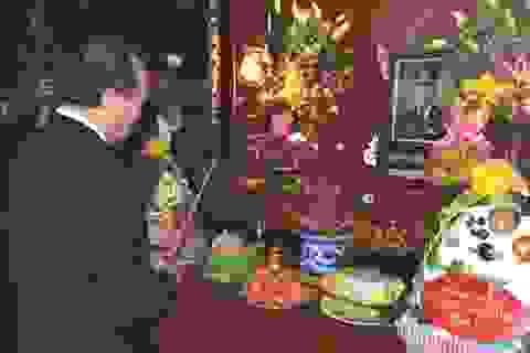 Thủ tướng dâng hương tưởng nhớ 100 năm ngày sinh Đại tướng Lê Đức Anh