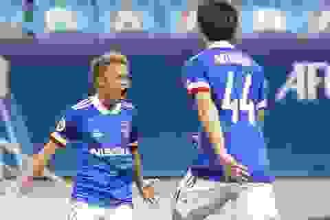 Lập siêu phẩm, ngôi sao Thái Lan giành hai giải ở cúp C1 châu Á
