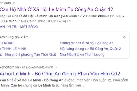 TPHCM: Chính quyền đưa ra cảnh báo dấu hiệu lừa đảo mua bán căn hộ Lê Minh