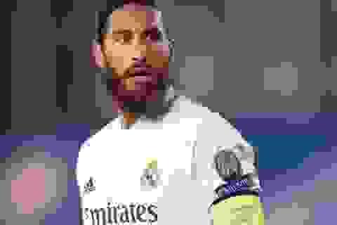 "Real Madrid gặp khó, Sergio Ramos thể hiện quyền uy ""anh cả"""
