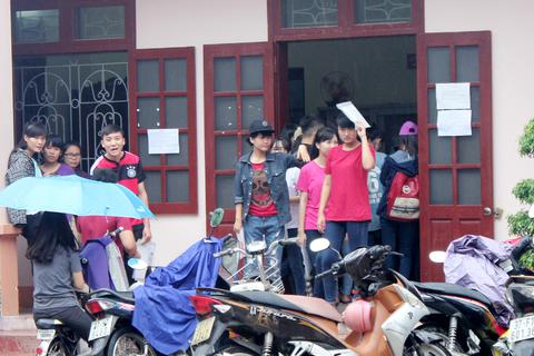 Nghệ An: Gần 1.700 bài thi xin phúc khảo