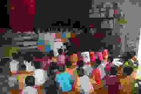 Nghệ An: Quá tải ở bậc học mầm non