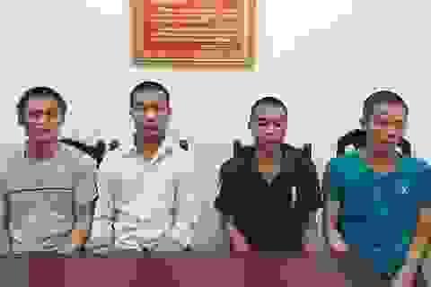 Bắt 4 đối tượng trốn truy nã ở các tỉnh Tây Nguyên và phía Nam
