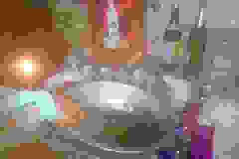"""Xem đồng bào Tày - Nùng làm lễ """"rửa bàn thờ"""" trong đêm giao thừa"""