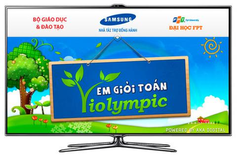 """""""Thử thách Toán học"""" với ViOlympic trên Smart TV"""