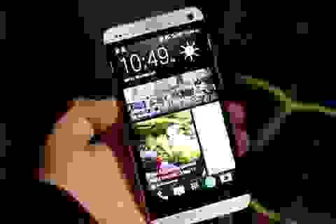 """HTC One """"vô đối"""" trong các bài kiểm tra sức mạnh"""
